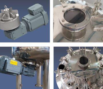 REATOR OUROFINO- reator farmacêutico com agitador magnético-fotos base2