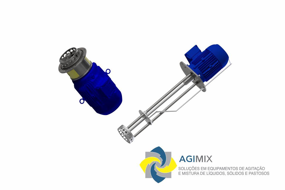 Emulsificador Rotor – Estator >>