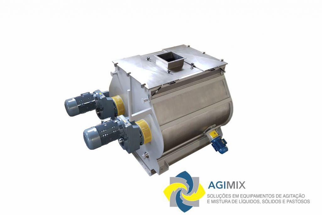misturador duplo eixo - agimix